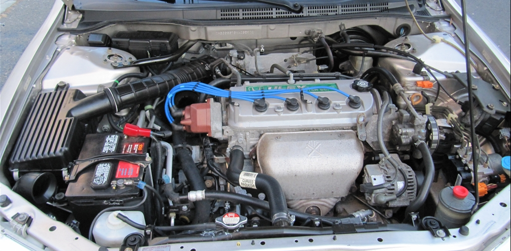 Engine F23A under the hood