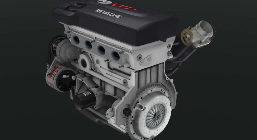 Engine Toyota 2AZ