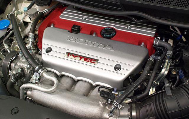 K20A-Z under the hood