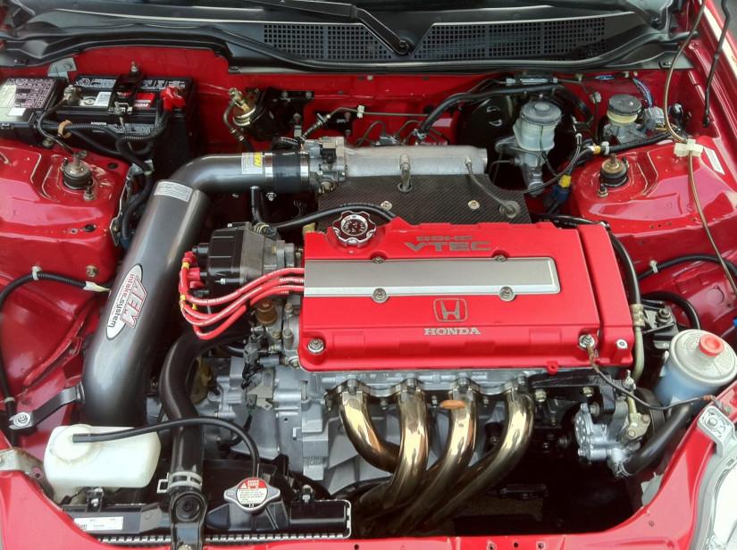 engine B18C / B18B under the hood