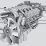 Engine Mercedes OM502LA
