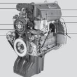 Engine Mercedes OM926LA