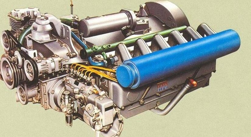 Engine MAN D2156