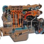 Engine Mercedes OM352