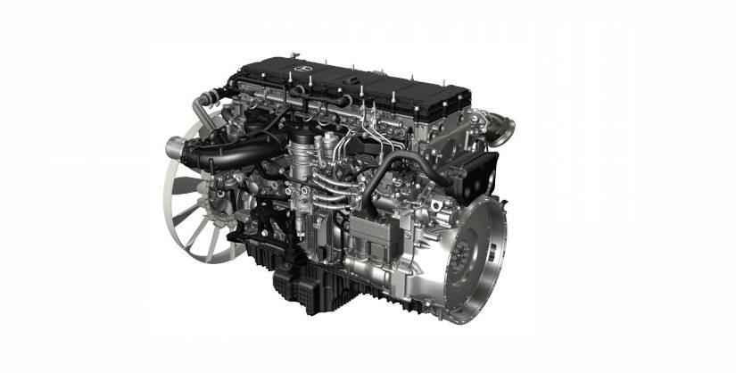 Engine Mercedes OM470