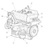 Engine Ford Duratorq 2.4